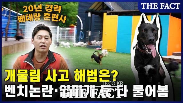 20년 경력 베테랑 훈련사 이웅용 소장에게 개 물림 사고 해법에 대해 물어보았다.