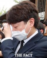 천안함 유족 앞 '이준석의 눈물' [TF사진관]
