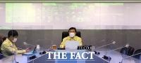 '코로나19 확진자 300명대'... 중대본 회의 주재하는 권덕철 [TF사진관]