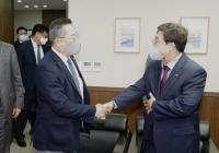 구자열, HMM 등 선사 방문해 중소기업 지원 확대 요청