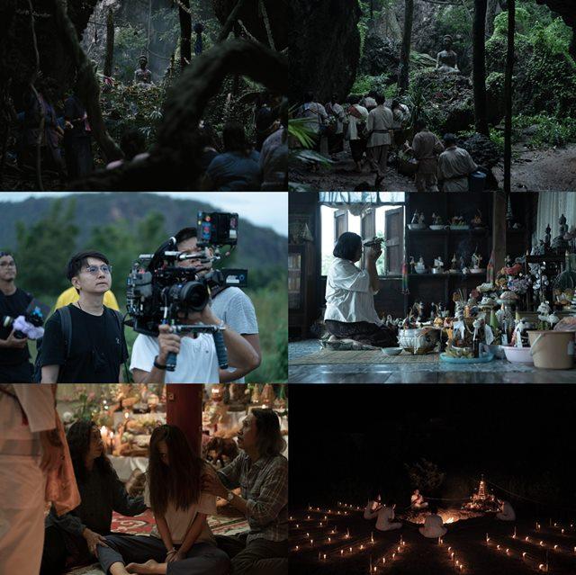 태국어로 무당을 뜻하는 제목의 랑종은 태국의 산골 마을, 신내림이 대물림되는 무당 가문의 피에 관한 세 달간의 기록을 담은 영화다. /영화 스틸컷