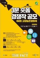 고창군, 제4회 농촌영화제 '3분 숏폼 경쟁작' 공모