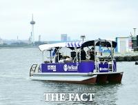 포항서 국내 첫 '완전자율운항' 크루즈 선박 시연회 열려