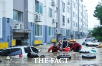 폭우에 보트타고 탈출했던 대전 아파트…복구에도 불안감은 여전