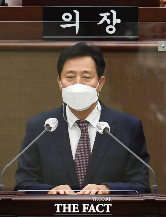 오세훈 서울시장표 조직개편안이 진통 끝에 통과됐으나 시의원들이 반대하는 내용들을 담고 있어 갈등이 이어질 것으로 전망된다. /이새롬 기자