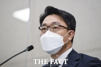 취임 후 첫 기자간담회 가진 김진욱...'공수처 인사위원회 결정 내용 발언' [TF사진관]