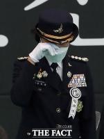 '고 김동식 소방령 영결식'…'눈물 훔치는 동료 소방관' [포토]