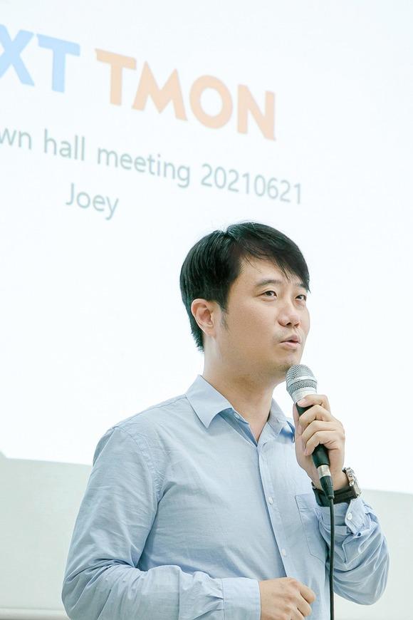 장윤석 티몬 대표 '스타트업 마인드로 일해달라'