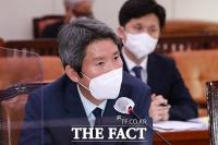 이인영, '북한과 대화 재개…연락 채널 복원부터 시작해야' [TF사진관]