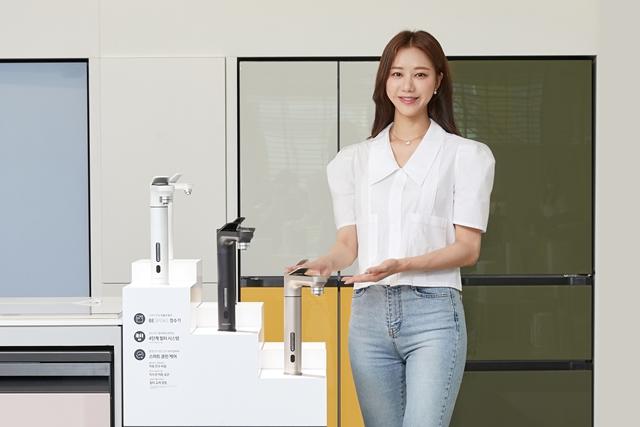 삼성 비스포크 정수기, 출시 3개월 만에 국내 판매 1만대 돌파