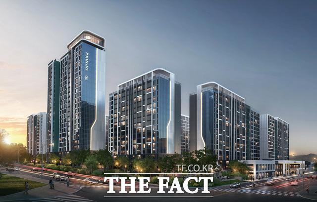 매각 앞둔 대우건설, '수지 현대아파트 리모델링' 상반기 마지막 ..