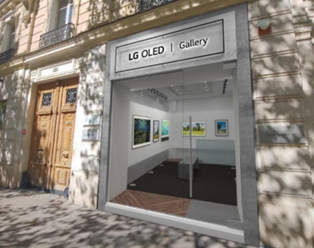LG, 파리 생제르맹 거리에 '올레드 TV' 갤러리 스토어 오픈