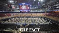 '토론토 백신의 날'…2만 5천여 명 동시 접종 [TF사진관]