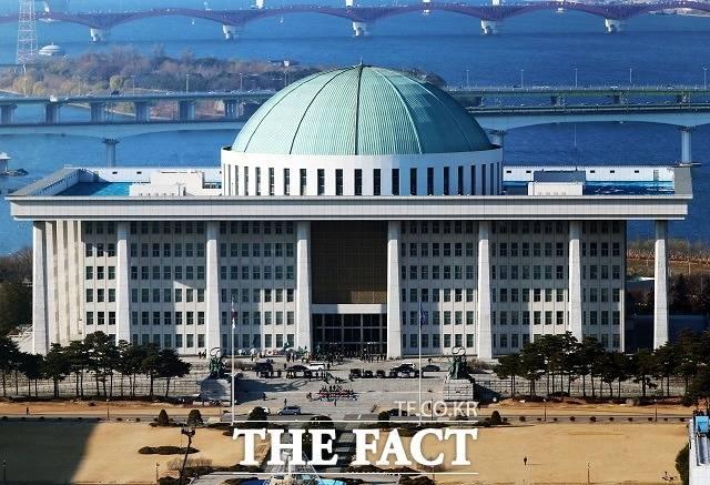 6월 임시국회에서 국회 세종의사당 건립을 위한 국회법 개정안 처리가 사실상 무산됐다./더팩트 DB