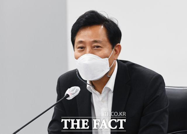 오세훈 서울시장이 대표 공약으로 내걸었던 서울런의 예산이 일부 삭감돼 통과됐다. /이동률 기자