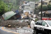 일본 시즈오카 산사태, 2명 사망·약 20명 실종 [TF사진관]