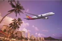 아시아나, 한가위 맞춰 9월 17·21일 하와이 부정기 항공편 운항