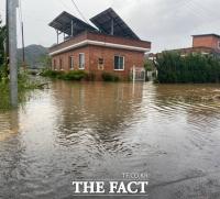 나무 쓰러지고 주택 침수도…경남 폭우 피해 속출