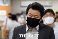 '김광석 부인 명예훼손 1심 무죄' 항소심 선고 출석하는 이상호 [TF사진관]