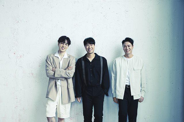 그룹 SG워너비(왼쪽부터 이석훈 김진호 김용준)가 16일 오후 6시 각종 음원 사이트를 통해 새 싱글 넌 좋은 사람을 발매한다. /C9엔터테인먼트, 목소리, 더블에이치티엔이 제공