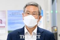 '사법 농단' 공판 출석하는 고영한 전 대법관 [포토]