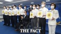 '국민바라기'로 끝난 민주당 대선후보 1차 컷오프 [TF사진관]