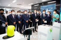 KT, 구미 5G 테스트베드 개소식서 5G 서비스 선보여