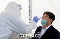 '국회 코로나19 비상!'…검사받는 이춘석 사무총장 [TF사진관]