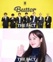 '유의미한 행보' 방탄소년단…'축복도 2배' 성유리 [TF업앤다운(상)]