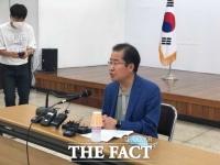 """윤석열 저격하던 홍준표...이번엔 """"대구시장과 경북지사 단체장 자격없다"""""""