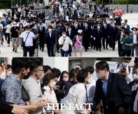 '윤석열이 오면?'…광주에서도 쏟아진 '와르르 인파' [TF사진관]
