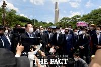 '국립5·18민주묘지' 찾은 윤석열 [포토]