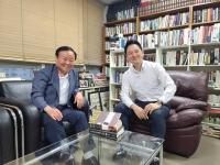 김재원, 'DJ 적자' 장성민에 국민의힘 입당 요청