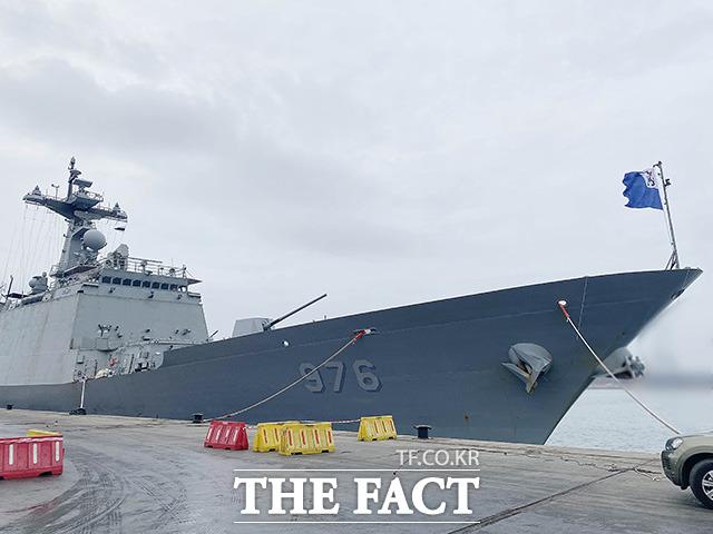 특수임무단 중 해군 148명은 문무대왕함을 몰고 국내로 복귀할 예정이며, 평시 항속으로 50일 정도 걸릴 것으로 관측된다. 부산에서 문무대왕함이 있는 지역까지 거리는 2만4000여㎞에 이른다.