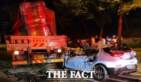 전주서 10대 몰던 승용차, 불법좌회전 차량 추돌…4명 사망·1명 중상