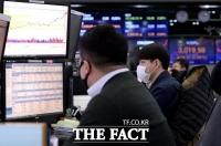 [시황] 코스피 3210선 하락 마감…기관·외국인 매도 공세