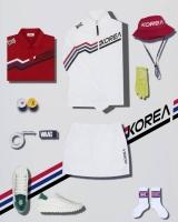 왁, 골프 국가대표 유니폼 지원 기념 프로모션 진행