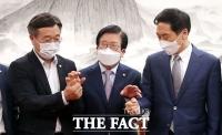 '법사위원장·재난지원금 범위'…여야 '3일째 이견 좁히기'[TF사진관]
