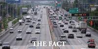 [고속도로 교통상황] 전국 483만 대 이동 '다소 혼잡'