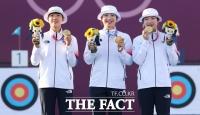 '올림픽 9연패'…'세계 최강 증명한 여자 양궁 대표팀' [TF사진관]