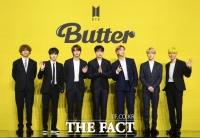 'PTD→Butter'...방탄소년단, 美 빌보드 핫100 9주 연속 1위