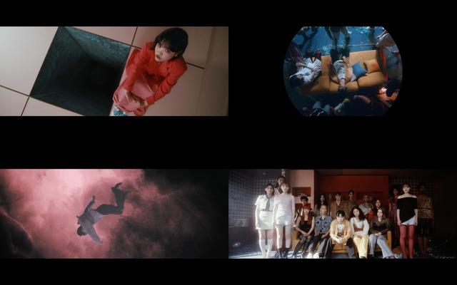 AKMU는 앨범에서 초월자유를 말하고자 했다. 단순히 육체적인 안락과 편안함을 넘어 어떠한 환경이나 상태에도 영향을 받지 않는 내면의 자유를 의미한다. 사진은 타이틀곡 낙하 뮤직비디오 장면. /YG 제공
