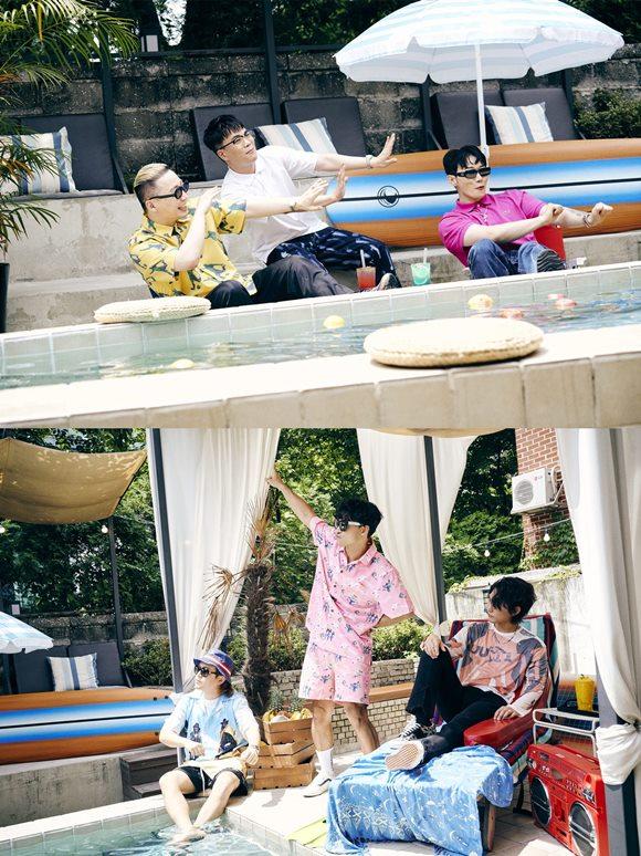 정준하(MC 민지)가 오는 30일 발매하는 새 싱글 I SAY WOO!(아새우!)(Remix)의 티저 이미지를 공개했다. /모브컴퍼니 제공