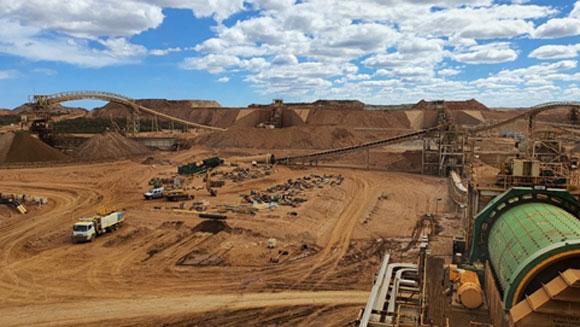 호주 레이븐소프사의 니켈광산 전경. /포스코 제공