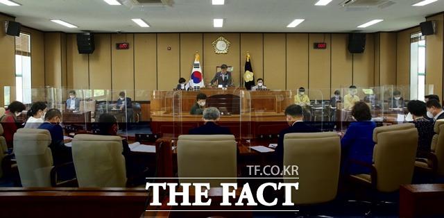 하동군의회 모습/하동군 제공