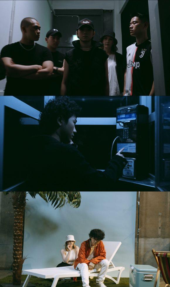 신예 래퍼 미누(M1NU)가 새 앨범 91 크로코(91 Croco)의 타이틀곡 댄스(Dance) 뮤직비디오 티저를 게재했다. /댄스 뮤직비디오 티저 캡처