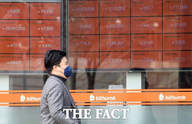 비트코인은 지난 28일 4600만 원대를 회복한 뒤 29일에도 비슷한 수준을 유지하고 있다. /더팩트 DB