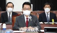 [취재석] 박지원 취임 1주년 앞두고 남북 연락 재가동…목포선 축하 쇄도