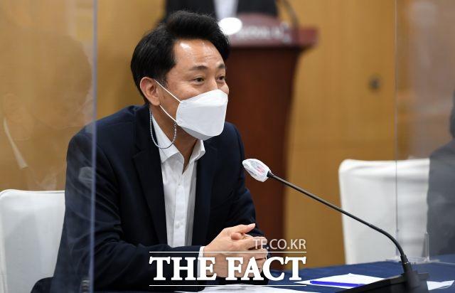 3일 서울시가 공개한 서울시장 4~6월 업무추진비 내역에 따르면 오세훈 시장은 취임 후 117일 동안 제로페이를 단 1회 사용한 것으로 나타났다. /임세준 기자