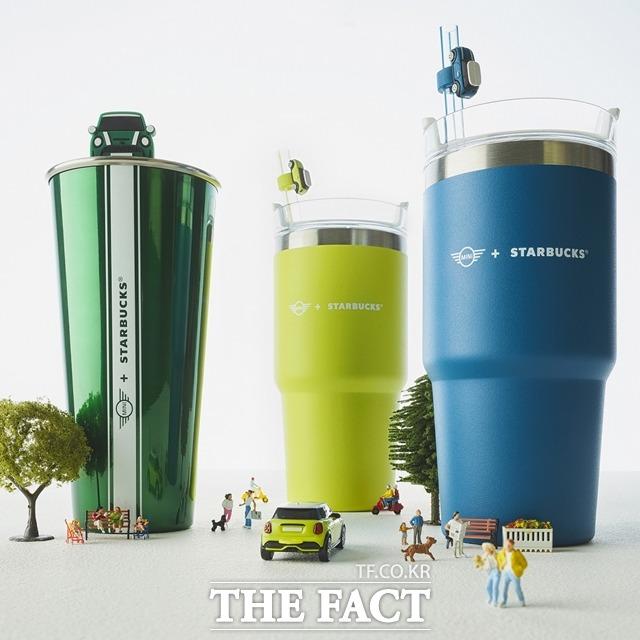 스타벅스, 미니 코리아와 협업…신차 색상 적용 음료 3종 출시